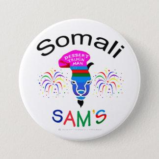"""""""Somalische SAM, het Man van de Vrachtwagen van Ronde Button 7,6 Cm"""