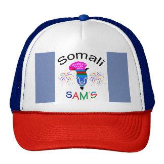 Somalische SAM, het Man van het Dessert, Petten Met Netje