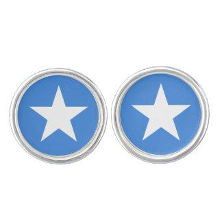 Somalische vlagCufflinks Manchetknopen