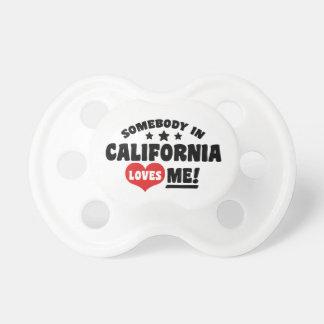 Somebody in Californië houdt van me Spenen