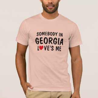 Somebody in Georgië houdt van me Overhemd T Shirt