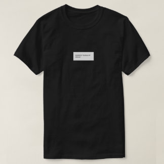 Somebody toucha mijn spagett-shirt t shirt