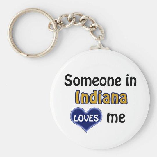 Someone in Indiana Loves me Sleutelhanger