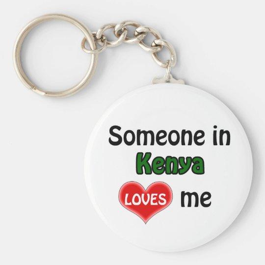 Someone in Kenya Loves me Sleutelhanger