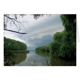 Soms een voorbijgaand storm… kaart