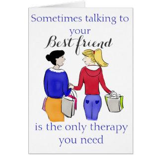 Soms is het Spreken aan Uw Beste Vriend… Briefkaarten 0