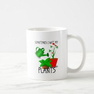 Soms maakte ik Mijn Plant nat Koffiemok