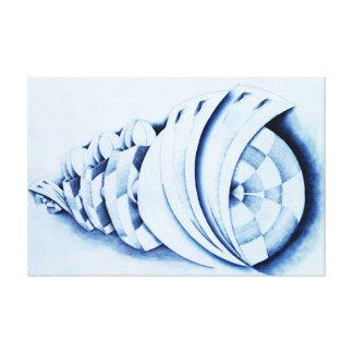 Soort Blauw - de Galerij Verpakte Druk van het Canvas Afdruk