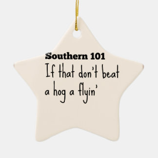 southern101-3 keramisch ster ornament