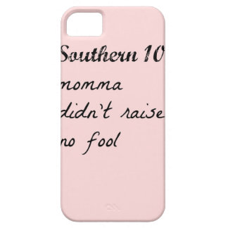 southern101-4 barely there iPhone 5 hoesje