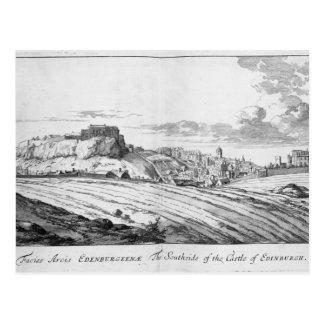 Southside van het Kasteel van Edinburgh Briefkaart
