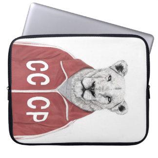 Sovjet leeuw laptop sleeve