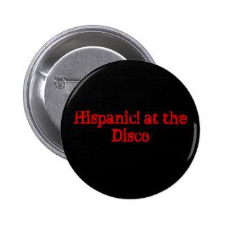 Spaans! bij de Disco Ronde Button 5,7 Cm