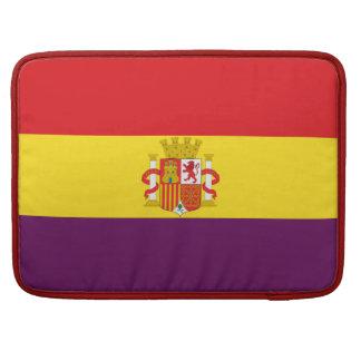 Spaanse Republikeinse Vlag - Bandera República MacBook Pro Beschermhoes