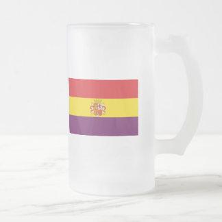 Spaanse Republikeinse Vlag - Bandera República Matglas Bierpul