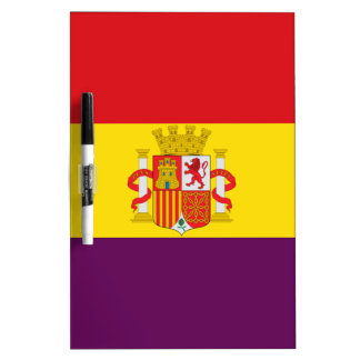 Spaanse Republikeinse Vlag - Bandera República Whiteboards