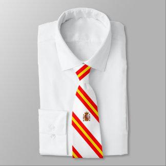 Spaanse strepenvlag stropdas