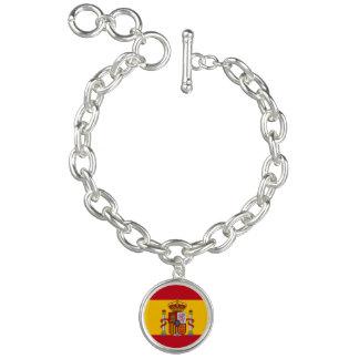 Spaanse vlag armbandje