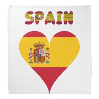 Spaanse vlag bandana