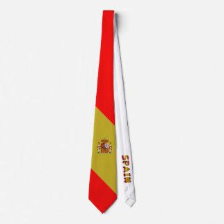 Spaanse vlag club stropdas