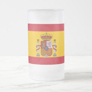 Spaanse vlag matglas bierpul