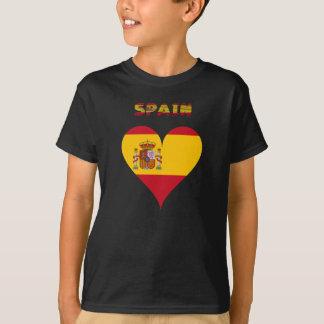 Spaanse vlag t shirt