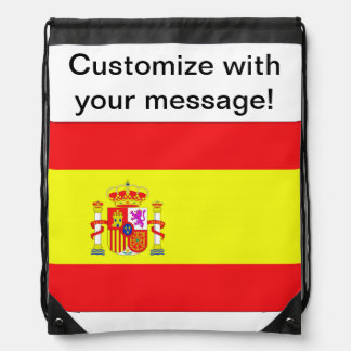 Spaanse Vlag Trekkoord Rugzakje