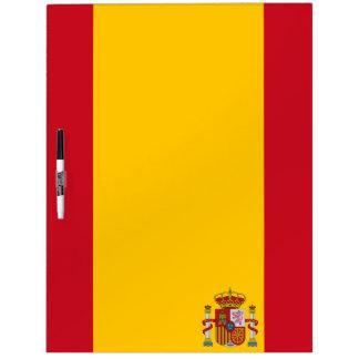 Spaanse vlag whiteboard