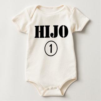Spaanssprekende Zonen: Uno van Numero van Hijo Baby Shirt