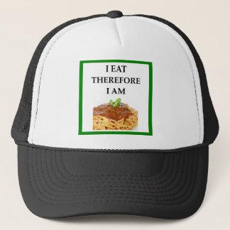 spaghetti trucker pet