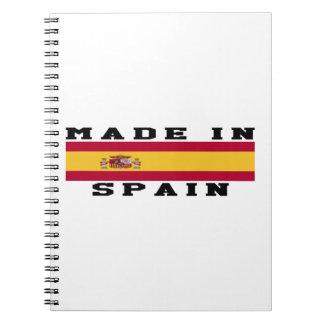 Spanje in Design wordt gemaakt dat Ringband Notitieboek