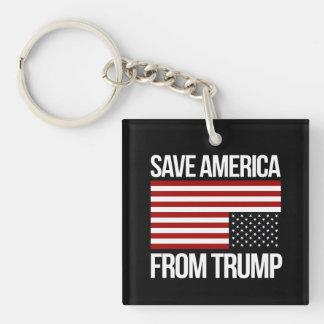 Sparen Amerika van Troef -- wit - Sleutelhanger