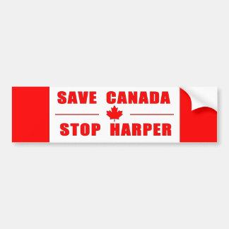 Sparen Canada - de Sticker van de Bumper van