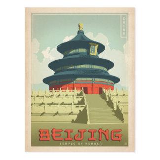 Sparen Datum | Bejing, China Briefkaart