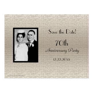 Sparen de Aankondiging van de Foto van het Briefkaart