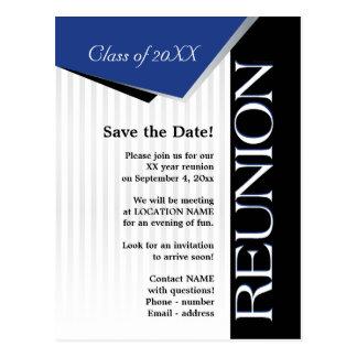 Sparen de bijeenkomst van de Klasse van de Datum Briefkaart