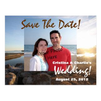 Sparen de Briefkaarten van het Huwelijk van het St Briefkaart