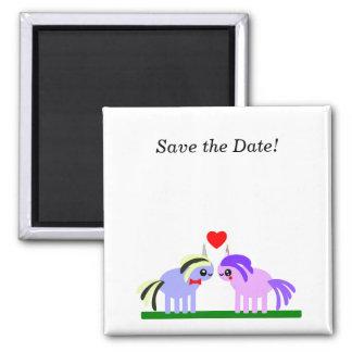 Sparen de Datum! Het huwelijk van de eenhoorn Magneet