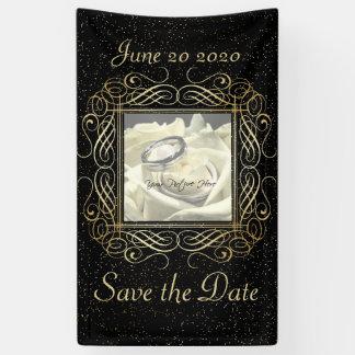 Sparen de Datum kijkt het Elegante Gouden Stip van