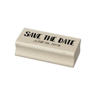 Sparen de Datum Rubberenstempel