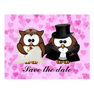 sparen de datumuil briefkaart