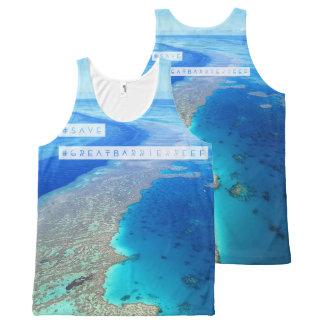 Sparen de Grote T-shirt van het Barrièrerif