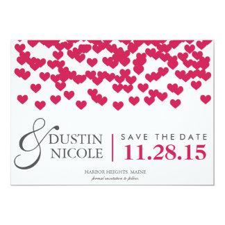 Sparen de Harten van de Datum | Huwelijk Kaart