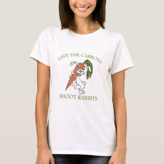 Sparen de Konijnen van de Spruit van Wortelen T Shirt