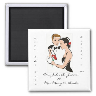 Sparen de Magneet van het Huwelijk van de Datum