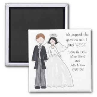 Sparen de Magneten van het Huwelijk van de Datum