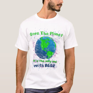 Sparen de Planeet T Shirt
