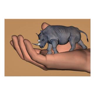 Sparen de Rinocerossen! Poster