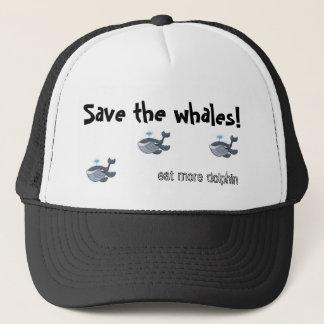 Sparen de walvissen trucker pet