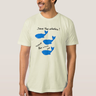 SPAREN DE WALVISSEN -- verzamel de gehele T Shirt